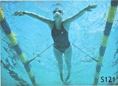 StrechCordz Elastico nuoto stazionario (da fermi)
