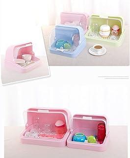 MU Boîte de Rangement portative de ménage Support de Rangement drainé de Tasse de Bouteille de Vaisselle créative à Couver...