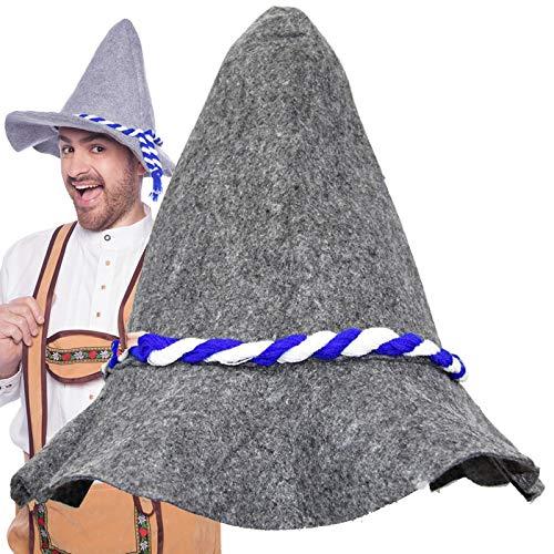 Seppelhut Felt Hat Oktoberfest Fasching Carnival Hat