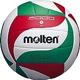 MOLTEN V5M2000 - Pelota de Voleibol Weiß/Grün/Rot Talla:5