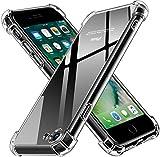 ivoler Coque Compatible avec iPhone Se 2020 / iPhone 8 / iPhone 7 4.7 Pouces, Ultra Transparent...