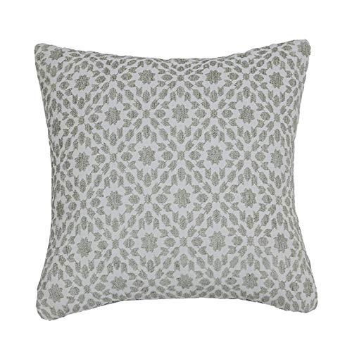 Funda de Almohada SoftNSYNSY, Funda de Almohada Cuadrada Decorativa, Muy Adecuada para sofás, sofás Camas, Dormitorio, Gris, c