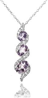 Best light amethyst necklace Reviews