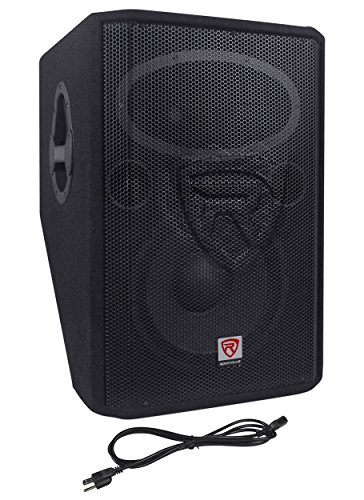 Rockville 1000 Watt 2-Way Powered Active Stage Floor Monitor review