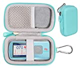 GETGEAR case for EKG/ECG Heart Rate Monitor Like SonoHealth, EMAY, OXPROVO, CONTEC, Facelake Note: CASE ONLY (Mint Green)
