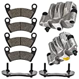 NICHE Rear Left Right Brake Caliper Pad Set for 2014-2019 Polaris Ranger Crew 900 RZR XP 4 1000 1912141 1912142