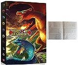 Album Compatible Con Cartas de Pokemon, Album Compatible Con Pokemon Para Cartas, Álbum de Pokemon, Carpeta compatible con Cartas Pokemon, Sostiene hasta 432 tarjetas (Phoenix VS Dragon)