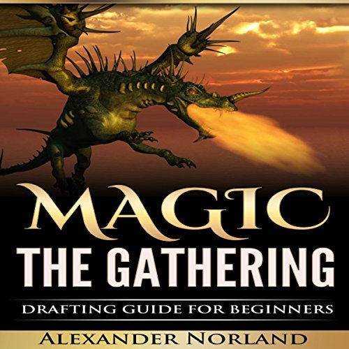 Magic the Gathering audiobook cover art