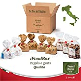 iFoodBox del Mulino assortimento regalo 6x1kg farine e 3x500g paste integrali grani antichi macinati a pietra Mulino Medievale Renzetti Umbria Pane Pasta Pizza Dolci Made in Italy