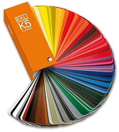 RAL K5 Gloss Farbfächer