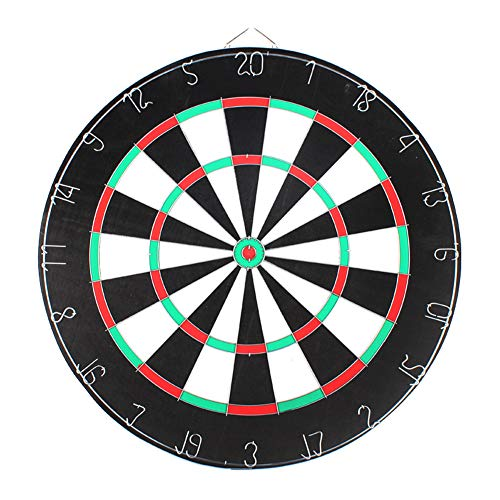 Best Buy! Thboxes Professional Dartboard Double-Sided Dart Board with Darts Set Fitness Equipment 18...