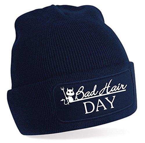 Bonnet Bad Hair Day - Bleu -