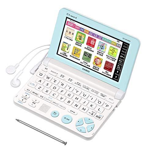 カシオ 電子辞書 エクスワード 小学生モデル XD-SK2800WE ホワイト