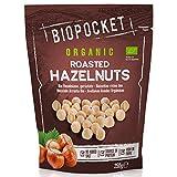 Biopocket - Avellanas ecológicas tostadas, 2 bolsas de 250 g