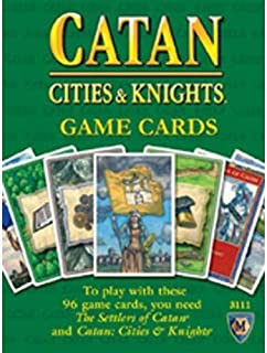 Catan: Cities and Knights: Game Cards