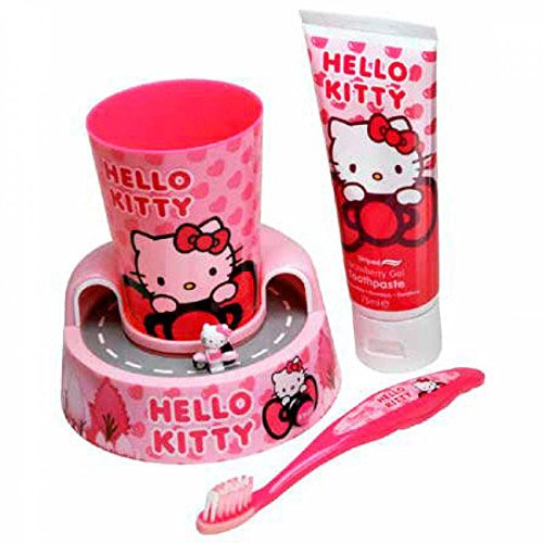 Mr White Jr Coffret Cadeau Oral Set Hello Kitty