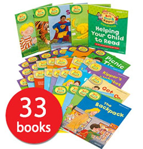 Oxford Reading Tree『Read With Biff, Chip And Kipper』Level(Stage) 1~3 33冊セット