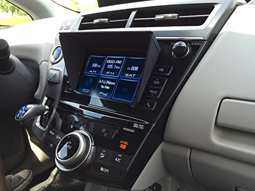 NaviShade Car Navigation Screen Protector. Fits Prius and Most 7  CD Slots- Only for models with CD above the GPS screen