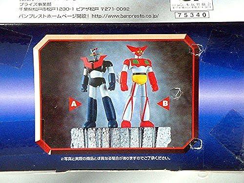 Mazinger Z Getter Robo grande taille Soft Vinyl Figure ensemble des 2 (JAPAN IMPORT)
