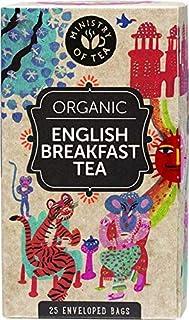 Ministry of Tea Organic English Breakfast Herbal 25 Tea Bags, 25 Pieces