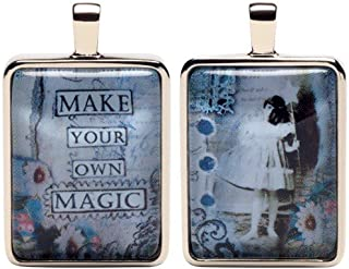 Santa Barbara Design Studio Collagette Jewelry Charm by Artist Sally Jean, Magic