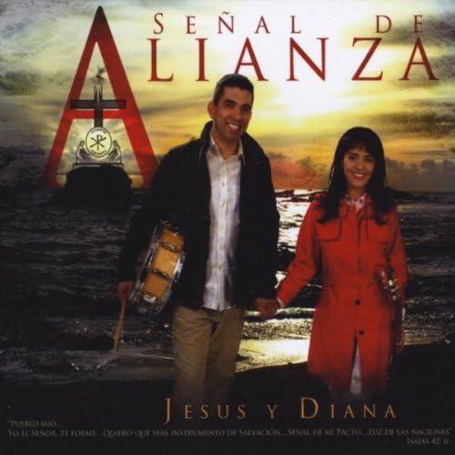 Jesus y Diana Cantillo