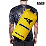 Kastking cyclone seal dry bag - 100% waterproof bag with phone case front zippered pocket, perfect for beach, fishing, kayaking, boating, hiking, camping, biking, skiing 10 durable construction dry bag - designed for active water sports and dusty environments the kastking cyclone seal dry bag is rugged, flexible, and abrasion resistant. A super strong and abrasion resistant 500d pvc construction with precision ultrasonic welded seams provide a superior seal to prevent water intrusion. Provides a complete waterproof bag system for any environment. Perfect for fishing, camping, kayaking, hiking, beach, boating waterproof protection – the kastking cyclone dry bag seal system provides an extra layer of pvc to ensure a best-in-class waterproof seal on a dry storage bag. Gives you total piece of mind to protect your valuable items from getting wet. Also has special splash-proof outer zipper pocket. Heavy duty - tough, resilient spider buckle will not fatigue and break. Heavy duty self-locking clips will hold oversize loads. Cyclone waterproof bag buckles and clips are made of heavy-duty nylon and will not rust in any wet conditions. Reinforced strap attachment points.