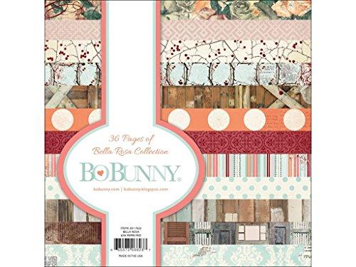 Bo Bunny 15,2x 15,2cm Bella Rosa Papier Pad