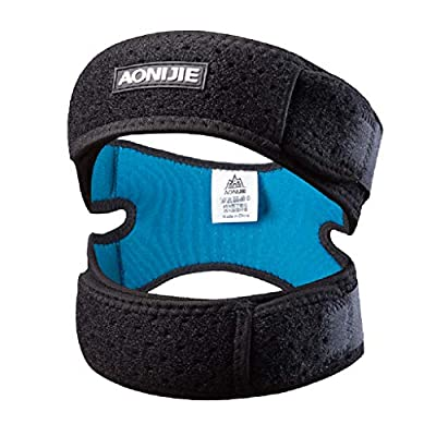 MagiDeal Knie Patella Stabilisator Knieband Klammer Unterstützung Für Wandern, Fußball, Basketball, Laufen, Tennis, Sehnenentzündung, Volleyball
