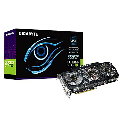 GIGABYTE GeForce GTX 780 3072MB GDDR5 384bit PCI-E