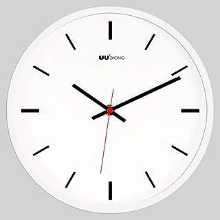 ساعة حائط مستديرة صامتة ، ساعة معلقة إسكندنافية غير مرقطة ممتازة دقيقة لحركة الاجتياح ساعة كوارتز ديكور للمطبخ F 25 سم (10...