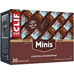 MINI, BUT MIGHTY: With 4–5g of protein (7%–8% DV) and 100–110 calories, it's the perfect snack when you need a little extra energy. NUTRITION FOR SUSTAINED ENERGY: CLIF BAR is the ultimate performance energy bar, purposefully crafted with an ideal mi...