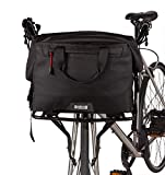 Two Wheel Gear 4 in 1 Dayliner Roll Top Handlebar Trunk Bike Box Bag - Water Resistant Messenger...