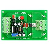 Electronics-Salon Panel Mount AC/DC Current Sensor Module Board, Based on ACS712 (+/-5Amp)