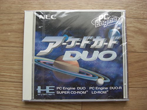 Arcade Card DUO NEC Core Super Cd Japan Pc Engine Rom