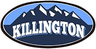 CafePress Killington Blue Patches Patch, 4x2in Printed Novelty Applique Patch