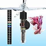 DaToo Mini Aquarium Heater 25W Small Fish Tank Heater 25 Watt with Free Thermometer Sticker