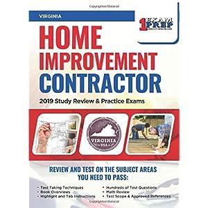 Virginia Home Improvement Contractor: 2019 Study Review & Practice Exams