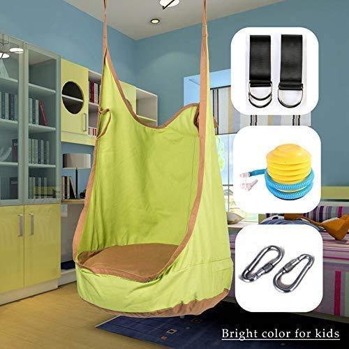 Max Capacity Hanging Tree Tent Kids Pod Swing Seat Hammock Swing Chair Waterproof Suit for Adult and Kids Indoor Outdoor Keyeep Hammock