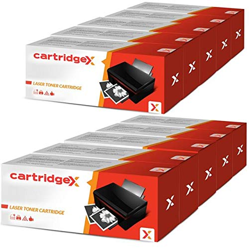 Cartridgex - Cartucho de tóner láser para HP 06A C3906A Laserjet 6L 5L Xtra 5L (10 Unidades)