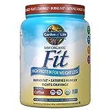 Garden of Life Raw Organic Fit Powder, Organic & Non-GMO Vegan Nutritional Shake, 10 Servings, 16.40 Ounce