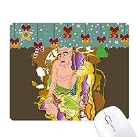 宗教は仏教の十八羅漢パターン ゲーム用スライドゴムのマウスパッドクリスマス