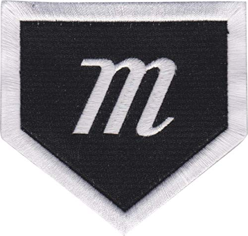 Marucci Sports Equipment Sports, MOBPTHHO-BK, Home Plate Bag Patch