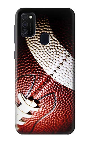 Innovedesire American Football Hülle Schutzhülle Taschen für Samsung Galaxy M21