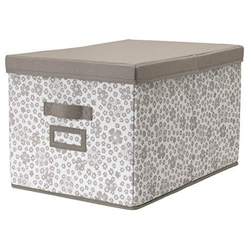 IKEA ASIA STORSTABBE Caja con tapa beige