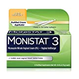 Monistat 3-Day Yeast Infection Treatment Pre-Filled...