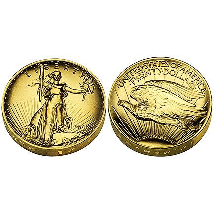 2009 United States Mint Ultra High Relief Double Eagle Gold Coin (UH1)