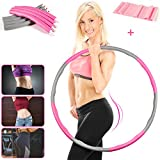 E-Cinsey Hoola Hoop for Adults, Weighted Hoola Hoops With Gifts- Tension band Youth Adults Ladies Gym...