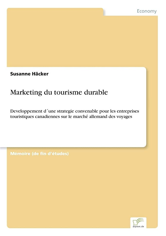 階下渦結婚Marketing Du Tourisme Durable
