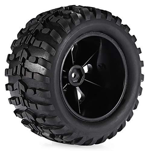 UJETML (H) Neumáticos RC Crawler Surperse 1/10 2pcs 120mm Llantas Llantas 0 camión Rueda Rueda Buggy para RC Coche rastreador 0 Slash scx10 0 FPV Neumáticos RC Slash 4x4 Neumáticos (Color : 2pcs)